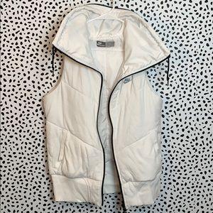 Nike white vest